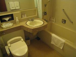 A bathroom at Hotel Marroad Hakone