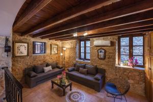 Χώρος καθιστικού στο Rosalia Apartments