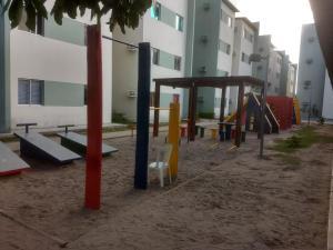 Children's play area at apartamento mobiliado