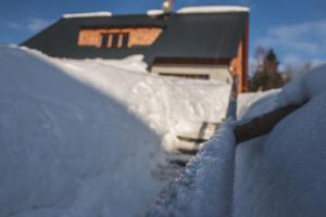 Apartment Loucky v zimě