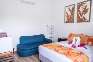 Cama o camas de una habitación en Hotel Eco Arenal