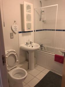 A bathroom at South Shore Road, Gateshead
