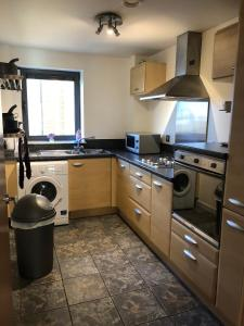 A kitchen or kitchenette at South Shore Road, Gateshead