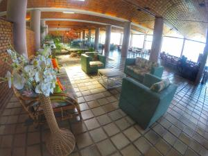 The lobby or reception area at Portogalo Suite Hotel