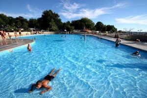 The swimming pool at or near Apartments Astra Plava Laguna
