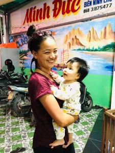 Children staying at Minh Duc Hotel - Phan Rang