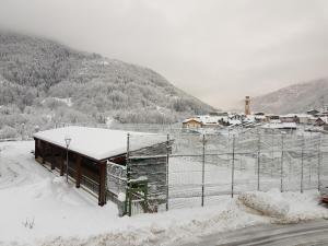Casa Sabrina during the winter