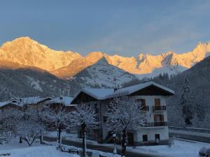 Hotel Edelweiss durante l'inverno