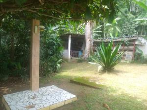 Um jardim em Casa Natureza Green House