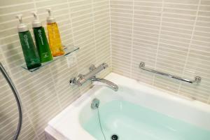 A bathroom at Hotel Brighton City Osaka Kitahama