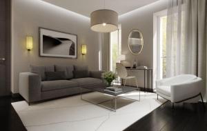 A seating area at Le Roi de Sicile - Chic Apartment Hotel & Services