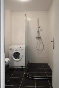 A bathroom at Airport Residence - Across from Otopeni Airport