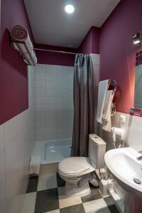 Ванная комната в Отель Станция Народная