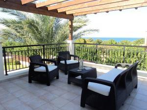 A balcony or terrace at Citrus Grove Villa