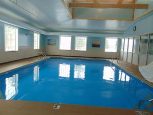The swimming pool at or near Days Inn by Wyndham Pentwater