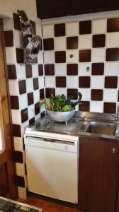 Cucina o angolo cottura di La Rovaia, natura arte e terra del prosecco a pochi minuti da Asolo