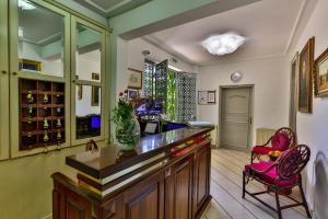 Fuajee või vastuvõtt majutusasutuses Villa Velzon Guesthouse