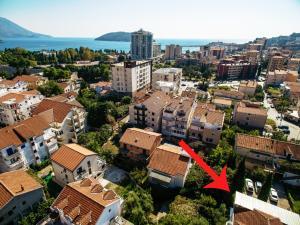 Vaade majutusasutusele Villa Velzon Guesthouse linnulennult
