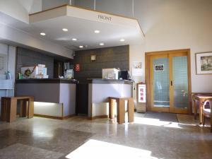 The lobby or reception area at Hotel Route-Inn Court Fujioka