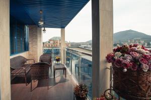 Балкон или терраса в Гостиница Буржуй