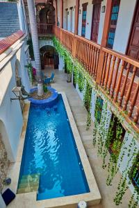 A view of the pool at Cartagena Legends or nearby