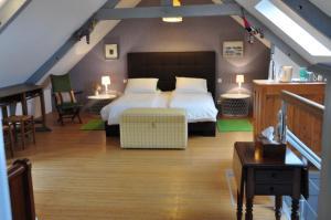 Un ou plusieurs lits dans un hébergement de l'établissement Ty'Malo