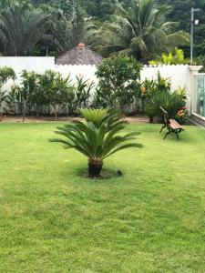 A garden outside Paradise Angra Beach