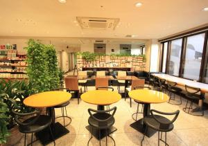 The lounge or bar area at Urban Hotel Kyoto