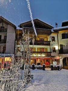 Les Airelles during the winter