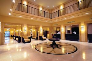 De lobby of receptie bij Sentido Reef Oasis Senses Aqua Park Resort
