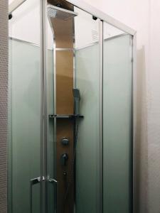 A bathroom at Le Lord