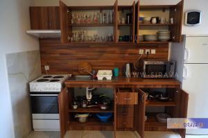 Kuchyňa alebo kuchynka v ubytovaní Chata Zemplin