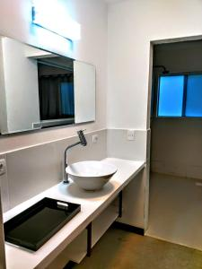 A bathroom at Pousada/Ristorante Nailha Casa Leonetti