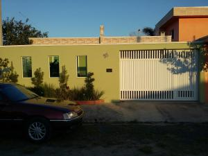 The building where the vacation home is located