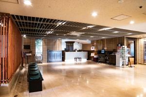 The lobby or reception area at Hotel Continental Fuchu