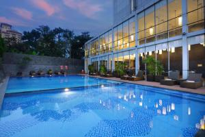 The swimming pool at or close to Aston Priority Simatupang Hotel and Conference Center