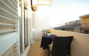 Balkón alebo terasa v ubytovaní Apartments Ljubica