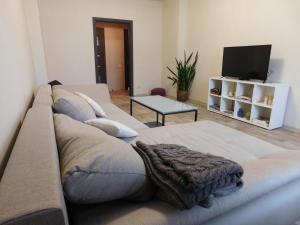 Зона вітальні в 3 rooms apartment in the historical center of Chernihiv!