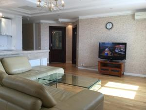 Гостиная зона в Apartment on Khoroshevskoe