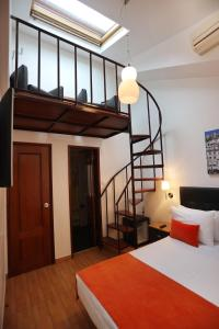 A bed or beds in a room at Anjo Azul