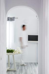 TV o dispositivi per l'intrattenimento presso Mill Houses Elegant Suites