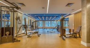 The fitness centre and/or fitness facilities at Wyndham Gramado Termas Resort & Spa