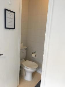A bathroom at Circle Guest House