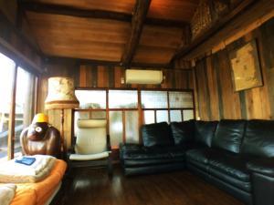 ゲストハウス ヤドカーリにあるシーティングエリア