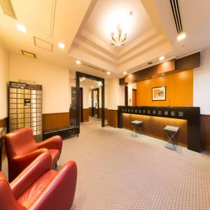 The lobby or reception area at Hotel IL Monte