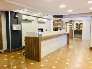 The lobby or reception area at Master Express Cidade Baixa - Próximo à UFRGS e à Santa Casa