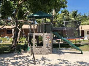 Children's play area at La Playa Estrella Beach Resort