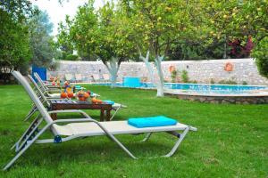 Jardín al aire libre en Villa Martha