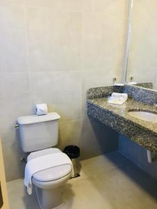 Um banheiro em Master Express Cidade Baixa - Próximo à UFRGS e à Santa Casa