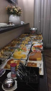 Food at or somewhere near the hotel